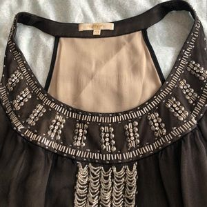 Marty M beaded blouse